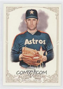 2012 Topps Allen & Ginter's #345 - Nolan Ryan