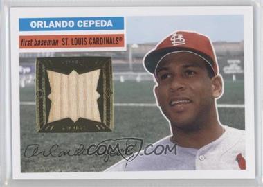 2012 Topps Archives - 1956 Relics #56R-OC - Orlando Cepeda