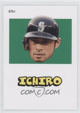 2012 Topps Archives - 1967 Stickers #67S-1 - Ichiro Suzuki