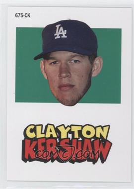 2012 Topps Archives - 1967 Stickers #67S-CK - Clayton Kershaw