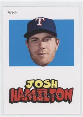 2012 Topps Archives - 1967 Stickers #67S-JH - Josh Hamilton