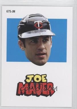 2012 Topps Archives - 1967 Stickers #67S-JM - Joe Mauer