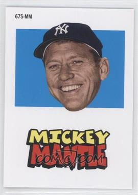 2012 Topps Archives - 1967 Stickers #67S-MM - Mickey Mantle
