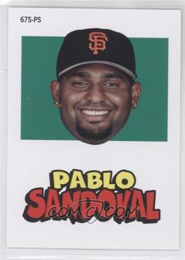2012 Topps Archives - 1967 Stickers #67S-PS - Pablo Sandoval
