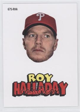 2012 Topps Archives - 1967 Stickers #67S-RHA - Roy Halladay