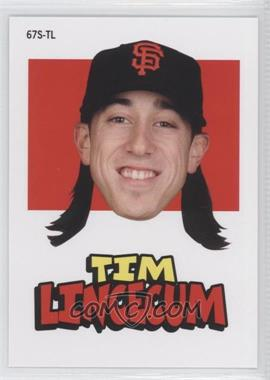 2012 Topps Archives - 1967 Stickers #67S-TL - Tim Lincecum