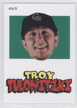 2012 Topps Archives - 1967 Stickers #67S-TT - Troy Tulowitzki