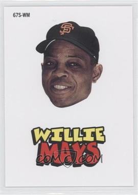 2012 Topps Archives - 1967 Stickers #67S-WM - Willie Mays