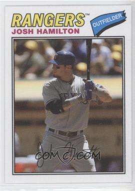 2012 Topps Archives - 1977 Cloth Patches #77C-JH - Josh Hamilton