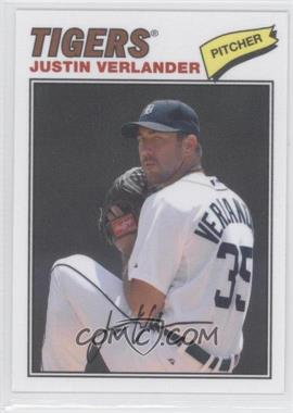 2012 Topps Archives - 1977 Cloth Patches #77C-JV - Justin Verlander