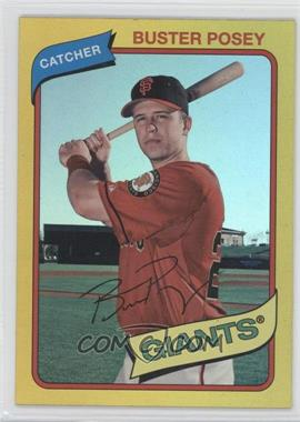 2012 Topps Archives - [Base] - Gold #140 - Buster Posey