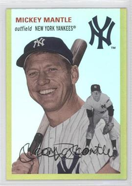 2012 Topps Archives - [Base] - Gold #22 - Mickey Mantle