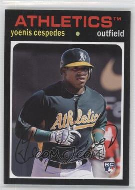 2012 Topps Archives - [Base] #95 - Yoenis Cespedes
