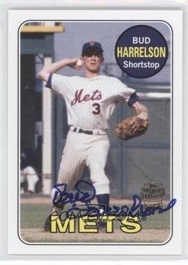 2012 Topps Archives - Fan Favorites - Certified Autograph [Autographed] #FFA-BH - Bud Harrelson