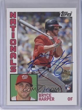2012 Topps Archives - Fan Favorites - Certified Autograph [Autographed] #FFA-BHA - Bryce Harper
