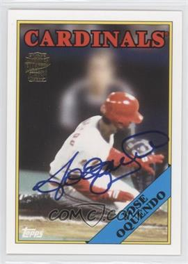 2012 Topps Archives - Fan Favorites - Certified Autograph [Autographed] #FFA-JOQ - Jose Oquendo