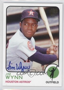 2012 Topps Archives - Fan Favorites - Certified Autograph [Autographed] #FFA-JW - Jimmy Wynn
