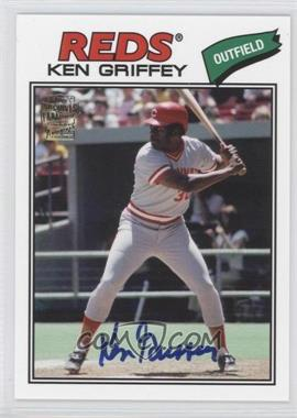 2012 Topps Archives - Fan Favorites - Certified Autograph [Autographed] #FFA-KG - Ken Griffey