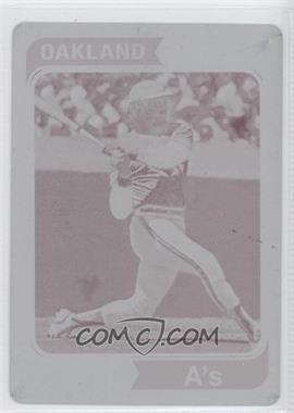 2012 Topps Archives - Reprint Inserts - Printing Plate Magenta #130 - Reggie Jackson /1