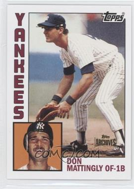 2012 Topps Archives - Reprint Inserts #8 - Don Mattingly