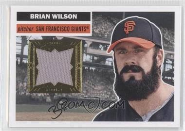 2012 Topps Archives 1956 Relics #56R-BW - Brian Wilson