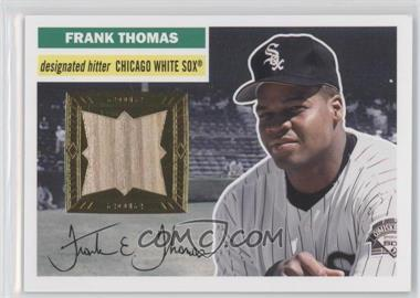 2012 Topps Archives 1956 Relics #56R-FT - Frank Thomas