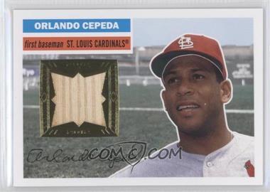 2012 Topps Archives 1956 Relics #56R-OC - Orlando Cepeda