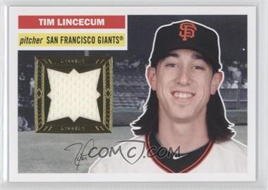 2012 Topps Archives 1956 Relics #56R-TL - Tim Lincecum