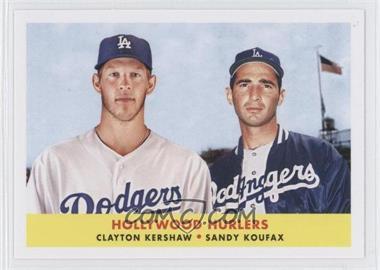 2012 Topps Archives 1958 Duos #58-KK - Clayton Kershaw, Sandy Koufax