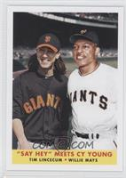 Tim Lincecum, Willie Mays