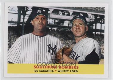 2012 Topps Archives 1958 Duos #58-SF - CC Sabathia, Whitey Ford