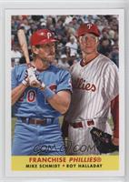 Mike Schmidt, Roy Halladay