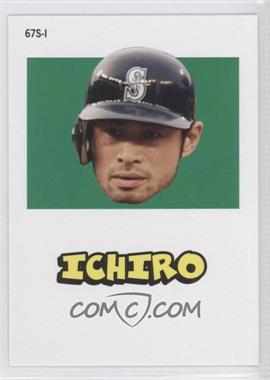 2012 Topps Archives 1967 Stickers #67S-1 - Ichiro Suzuki