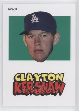 2012 Topps Archives 1967 Stickers #67S-CK - Clayton Kershaw