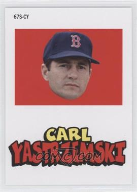 2012 Topps Archives 1967 Stickers #67S-CY - Carl Yastrzemski