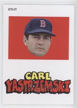 2012 Topps Archives 1967 Stickers #67S-CY - Carl Yastrzemski