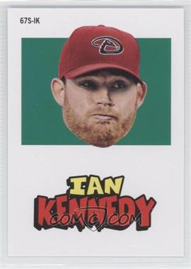 2012 Topps Archives 1967 Stickers #67S-IK - Ian Kennedy