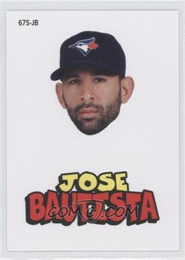 2012 Topps Archives 1967 Stickers #67S-JB - Jose Bautista