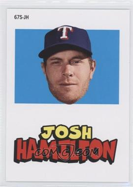 2012 Topps Archives 1967 Stickers #67S-JH - Josh Hamilton