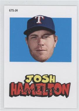 2012 Topps Archives 1967 Stickers #67S-JH - Josh Hamilton
