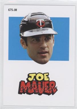 2012 Topps Archives 1967 Stickers #67S-JM - Joe Mauer
