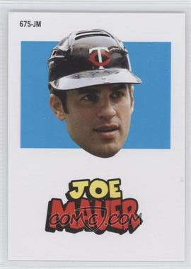 2012 Topps Archives 1967 Stickers #67S-JM - Joe Mauer