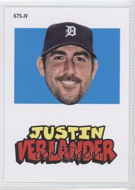 2012 Topps Archives 1967 Stickers #67S-JV - Justin Verlander