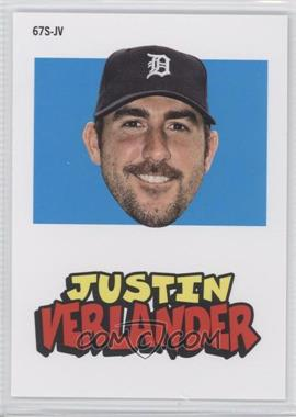 2012 Topps Archives 1967 Stickers #67S-JV - Justin Verlander