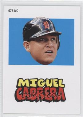 2012 Topps Archives 1967 Stickers #67S-MC - Miguel Cabrera