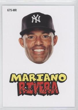 2012 Topps Archives 1967 Stickers #67S-MR - Mariano Rivera