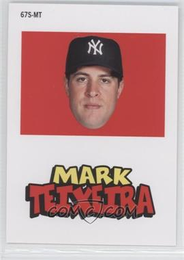 2012 Topps Archives 1967 Stickers #67S-MT - Mark Teixeira