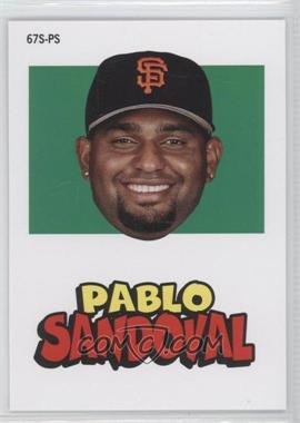 2012 Topps Archives 1967 Stickers #67S-PS - Pablo Sandoval