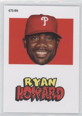 2012 Topps Archives 1967 Stickers #67S-RH - Ryan Howard