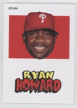 2012 Topps Archives 1967 Stickers #67S-RH - Ryan Howard